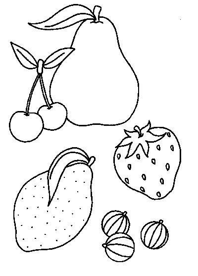 Coloriage fruits - Coloriage citron ...