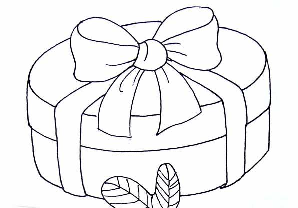Coloriage boite cadeau - Cadeau coloriage ...