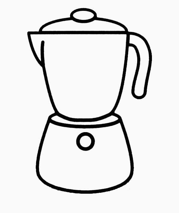 Coloriage cafeti re - Tous les ustensiles de cuisine ...