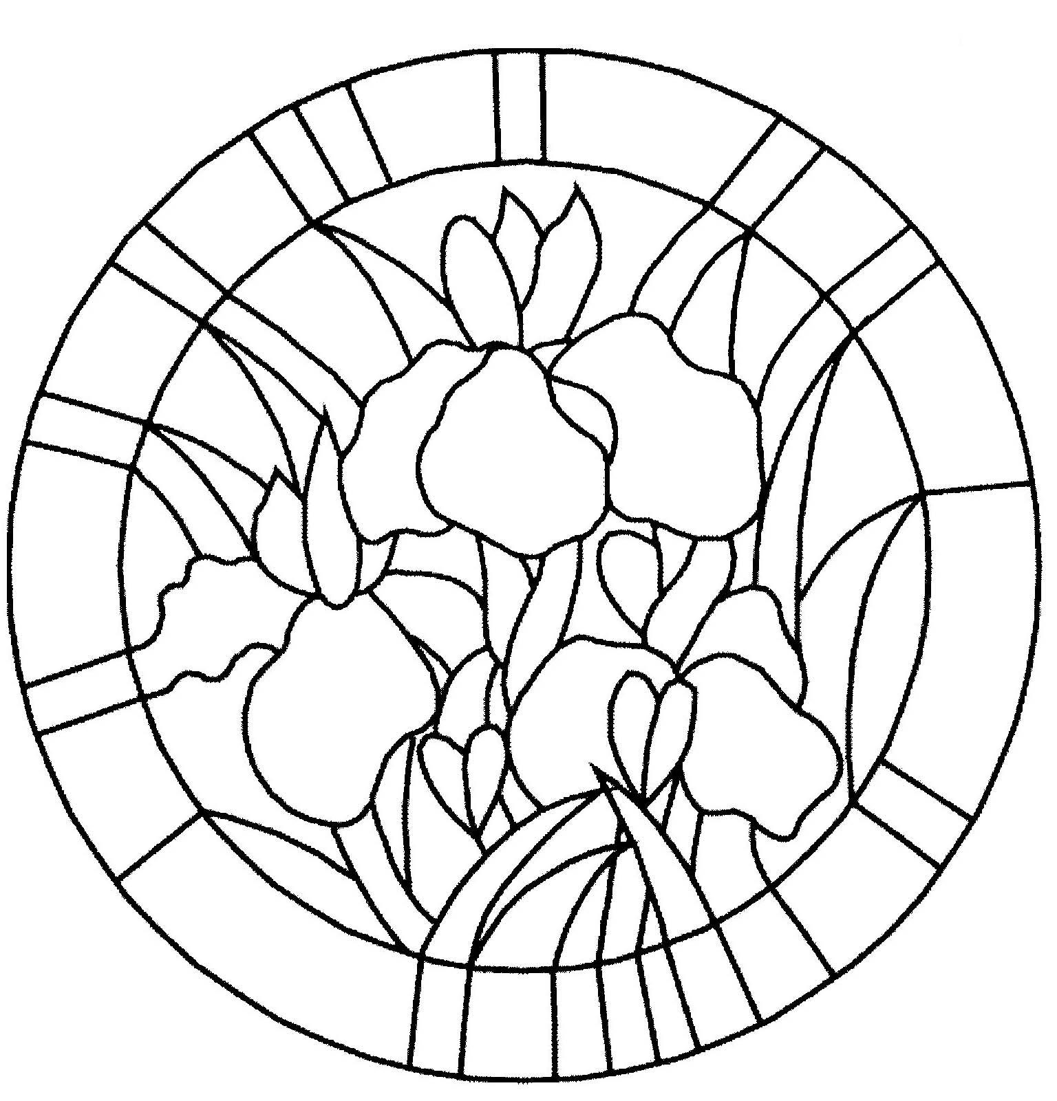 Coloriage bouquet de fleurs