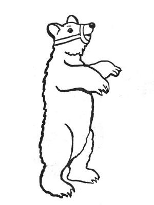 Animaux Coloriage Ourson.Coloriages Animaux Sauvages
