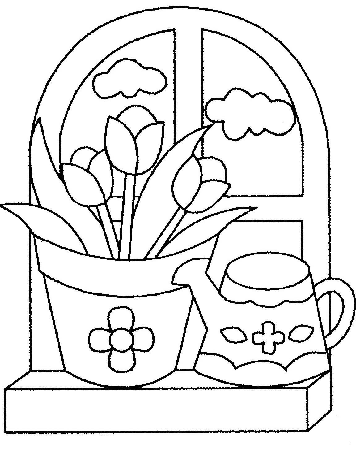 Coloriage Fleur