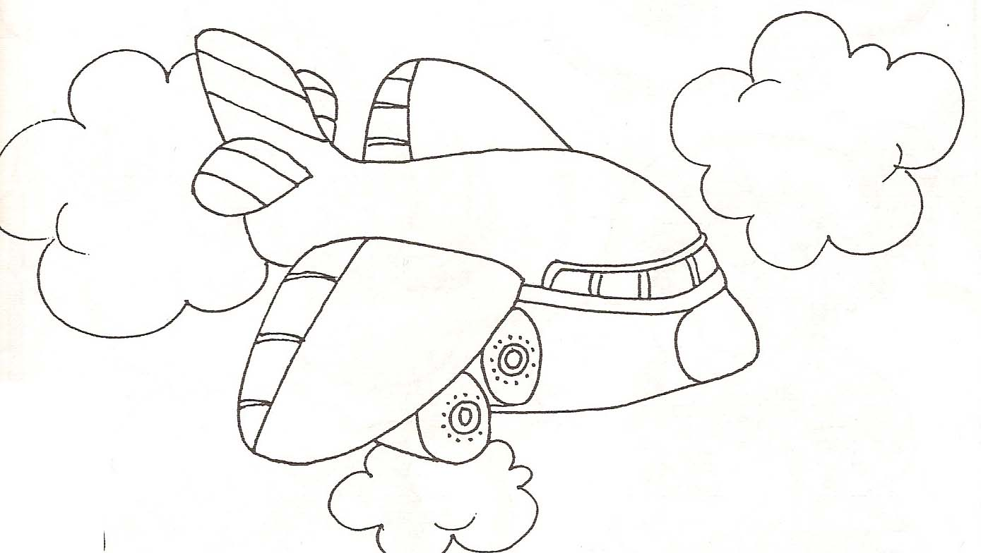 Coloriage Dans L Avion: Coloriage Avion