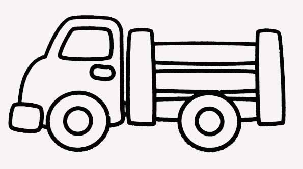 Simple Coloriage Camion Simple Coloriage Camion Camion Coloriage htsQrdxBC