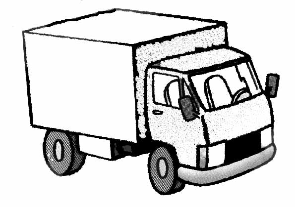 Coloriage Camion