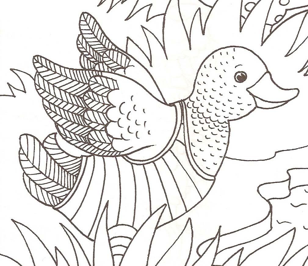 Coloriages canards - Canard a colorier ...