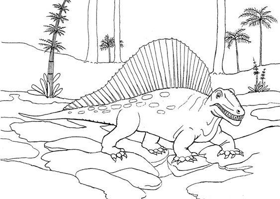 Coloriages dinosaures - Dessins de dinosaures ...