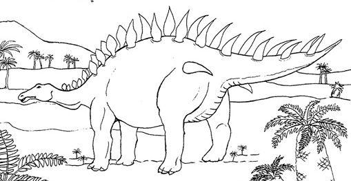 Coloriage Code Dinosaure.Coloriage Dinosaure Stegosaure