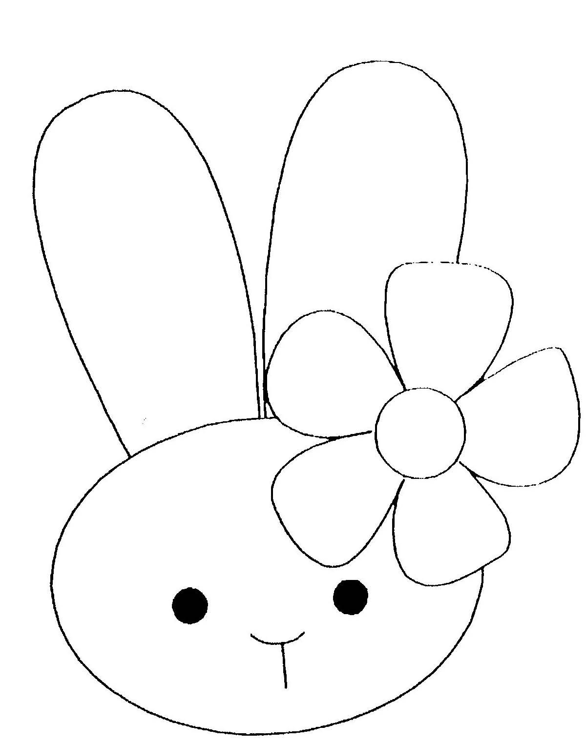 coloriage lapine