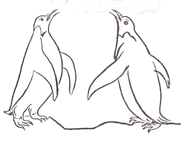 Coloriages pingouins - Coloriage pingoin ...