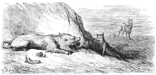 Le Lion Le Loup Et Le Renard