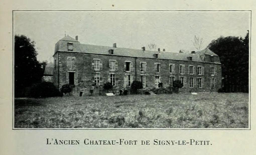 departement des ardennes vues de la france en 1900 1175 l ancien chateau fort de signy le. Black Bedroom Furniture Sets. Home Design Ideas