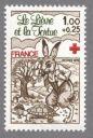 Timbre_de_France_annee_1978_-_2024_-_croix-rouge_-_fable_de_la_fontaine_le_lievre_et_la_tortue.JPG